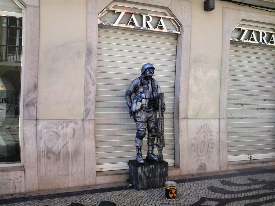 Segurança da Zara