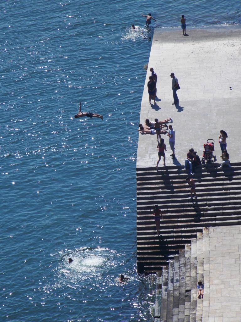 Mergulho no Porto