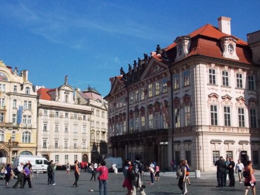 Architecture Sample Amostra da arquitetura de Praga.