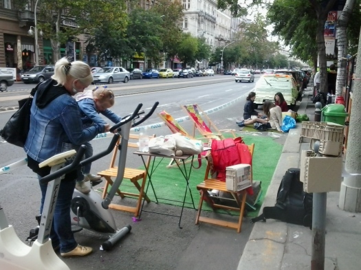 Car Free Day in Budapest