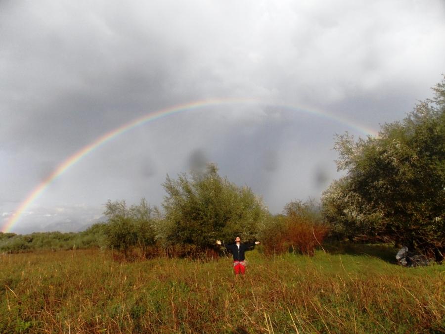 Rainbow in Albânia