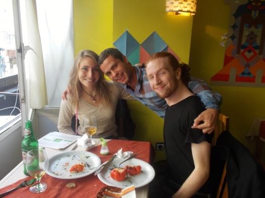 Jackson, Emily and me!
