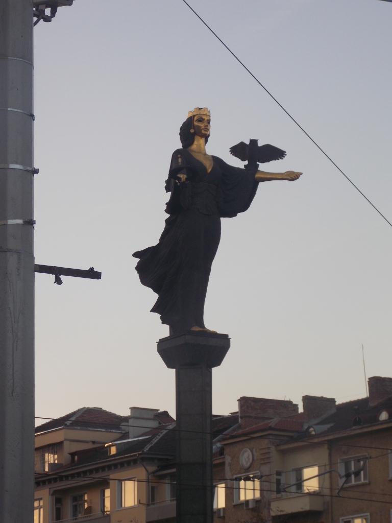Estátua de Santa Sófia