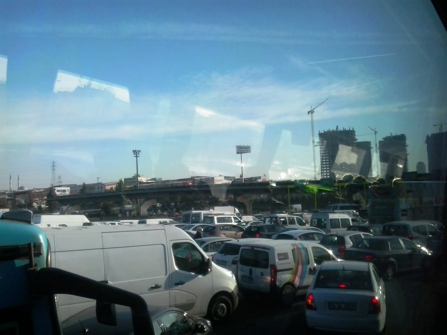 Marginal Tietê ou Istambul?