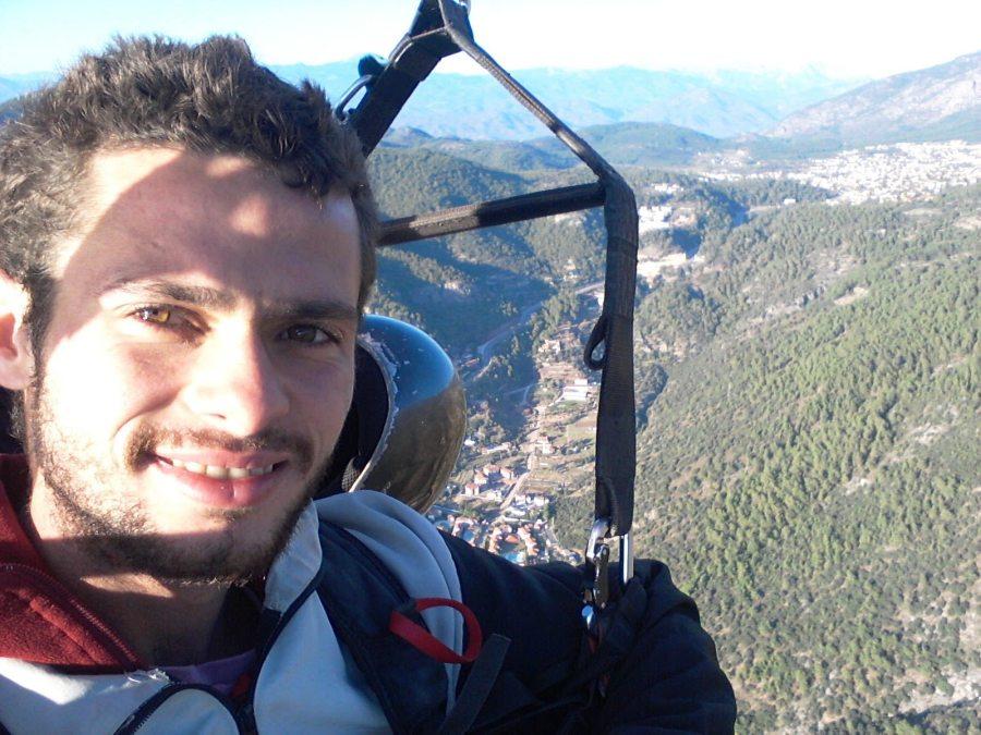 Voando sobre Fethiye, Turquia