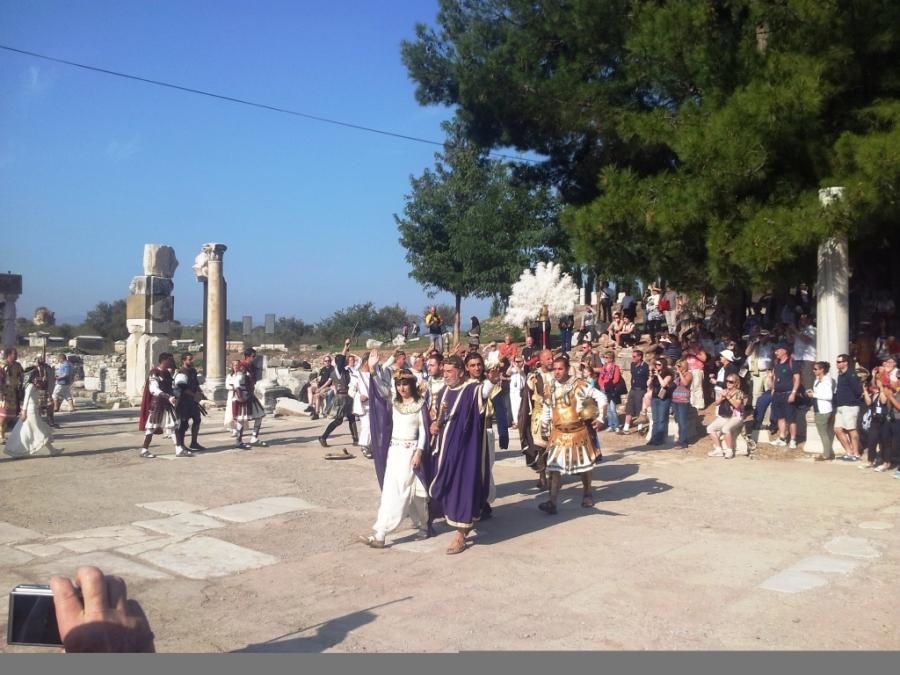 Encenação em Éfeso
