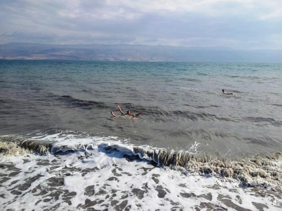 Surviving in the Dead Sea