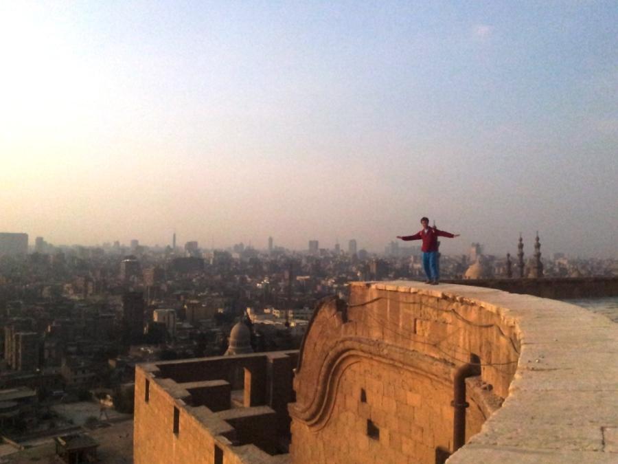 Surfando nas ondas de Cairo