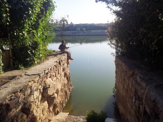 Pescando em Luxor
