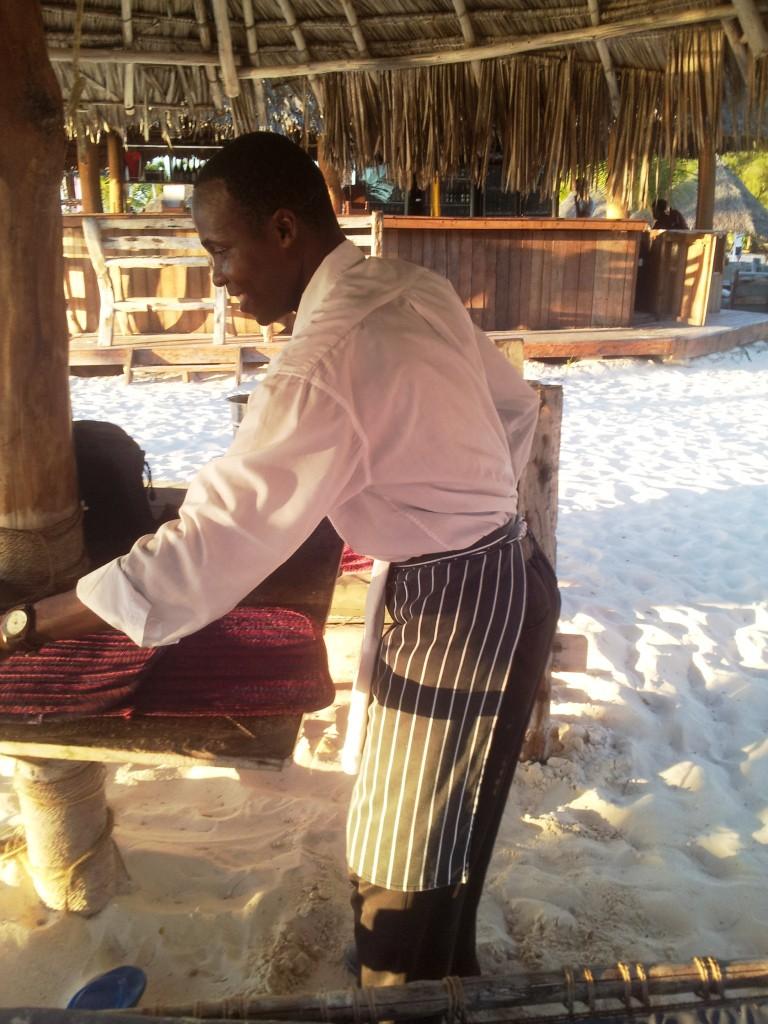 Zanzibar Waiter