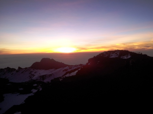 Sunrise in the Top!