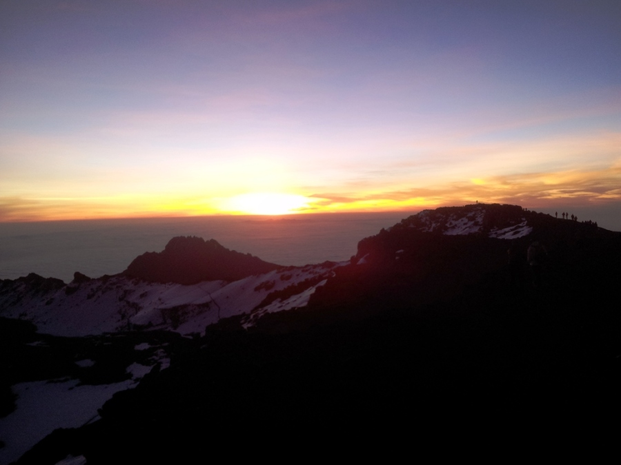 Sunrise in the Top!