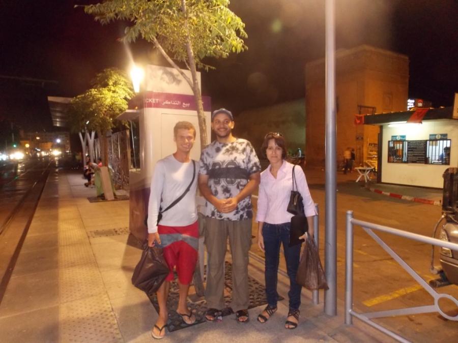 Friends in Rabat