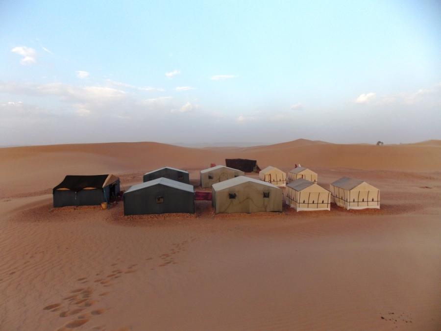 Bedouin Camp Site Acampamento dos beduínos