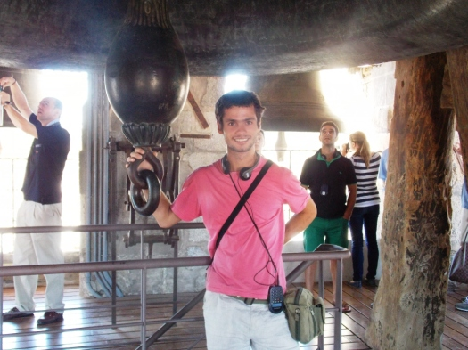 Ringing the Chapel Bell in Toledo