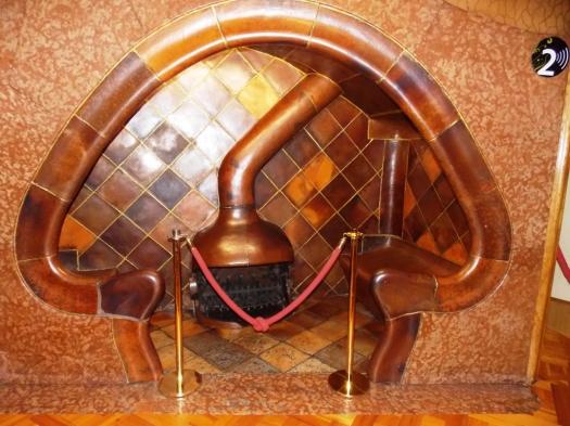 Gaudí Fireplace