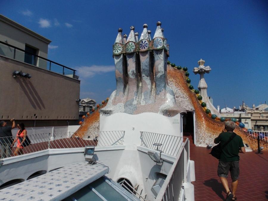 Gaudí Chimney