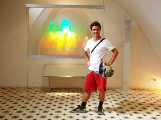 Me and Gaudi in Hologram