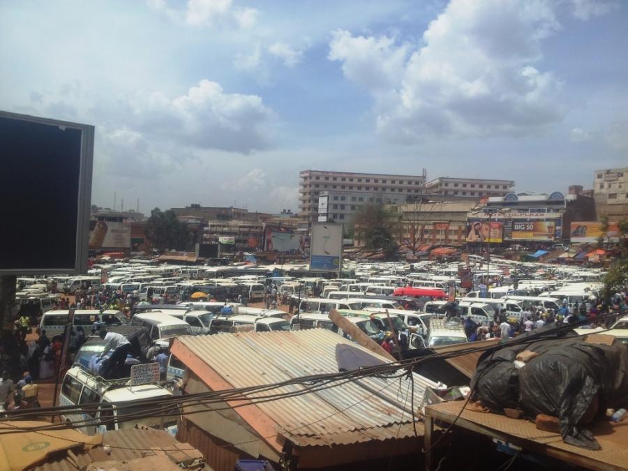 Chaos in Kampala