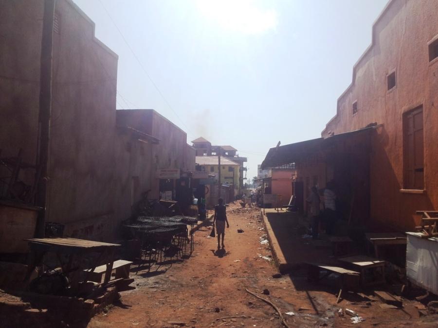 Ruas de Kampala