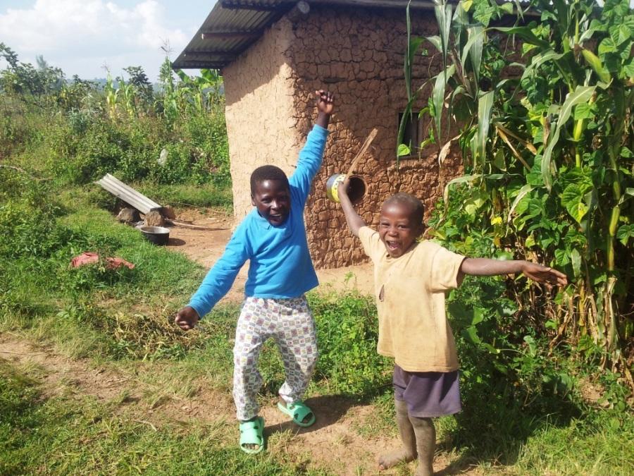 A Alegria das Crianças em Uganda