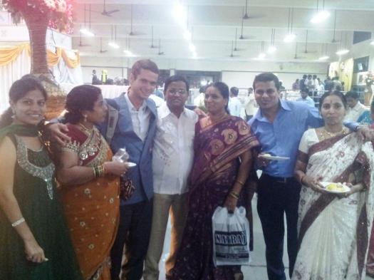Foto com a família