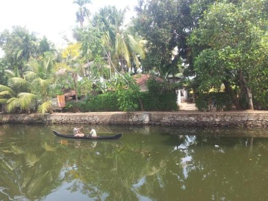 Boat in Kollam