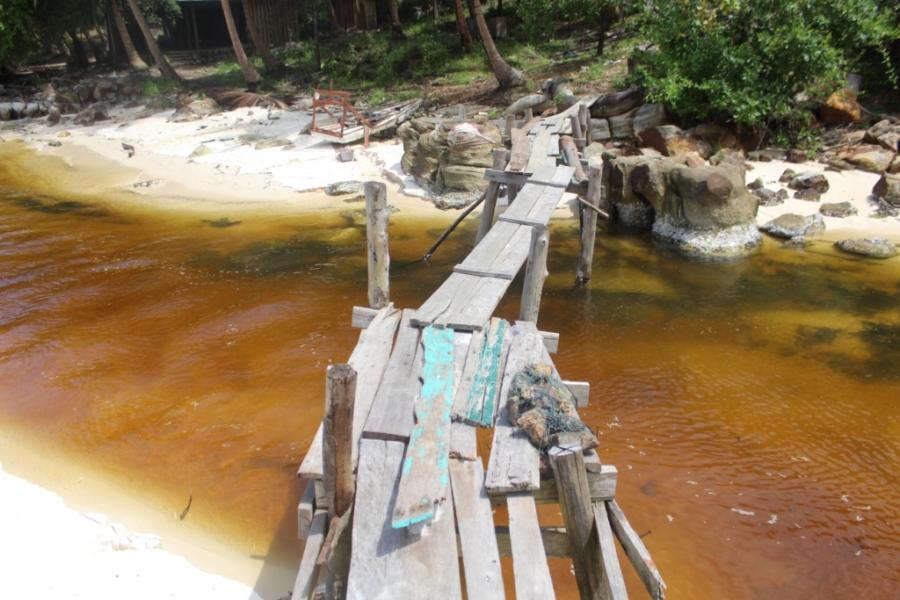 Ponte em Koh Rong
