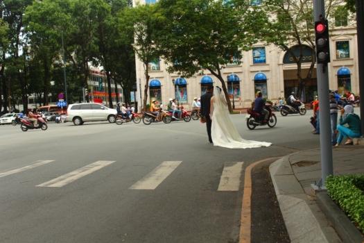 Casando no Tráfego de Saigon