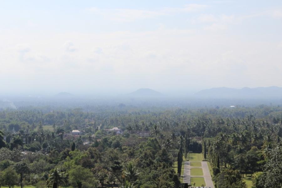Vista de Borobudur
