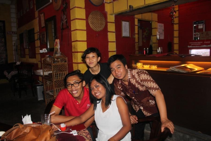 Restataurante em Yogyakarta
