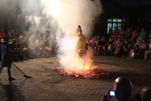 Pisando no fogo