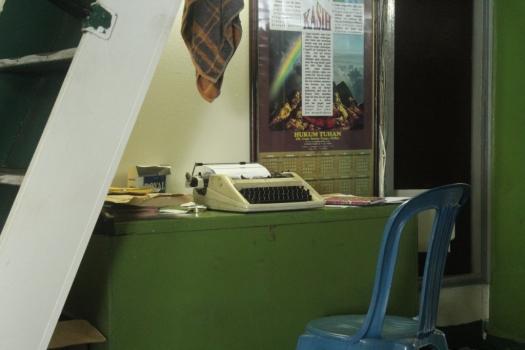 Existem máquinas de escrever