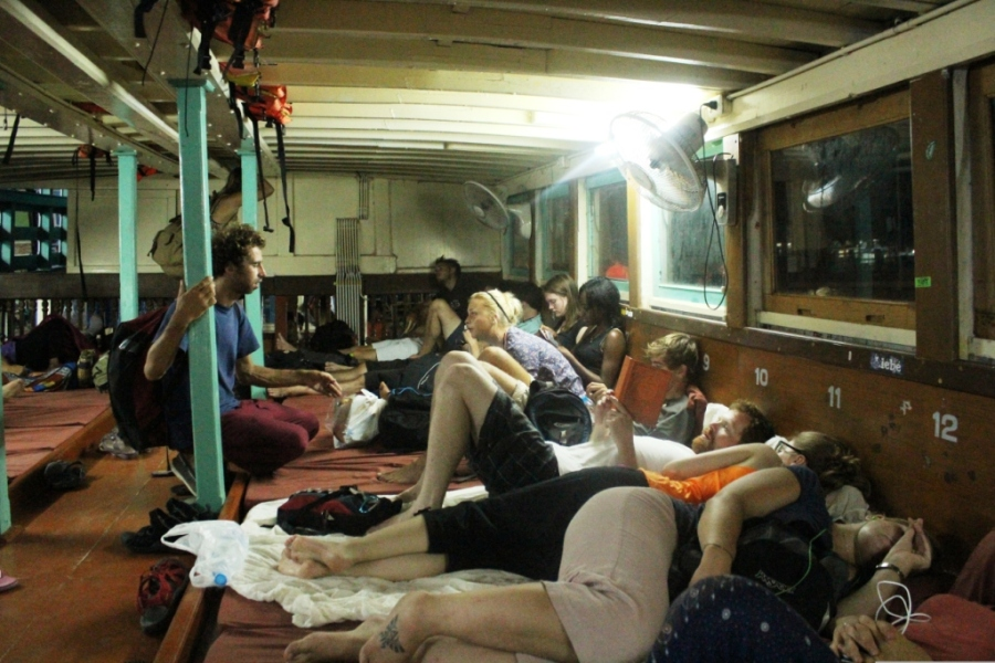 Aventura no Barco Noturno