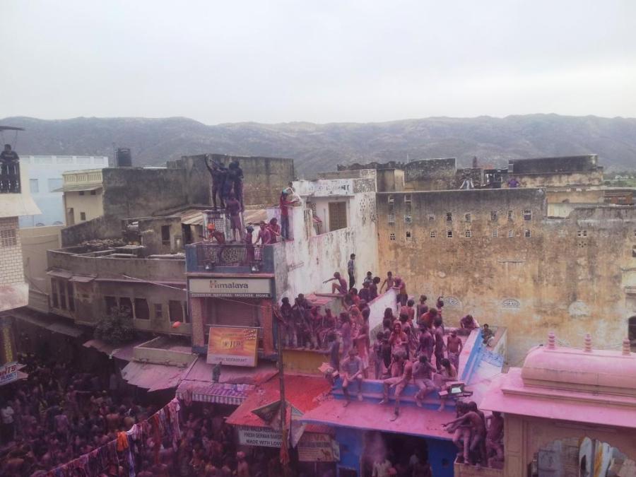 Holi in Pushkar