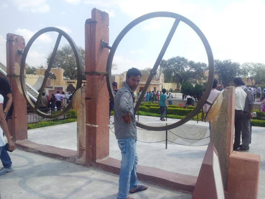 Indiano posando para foto