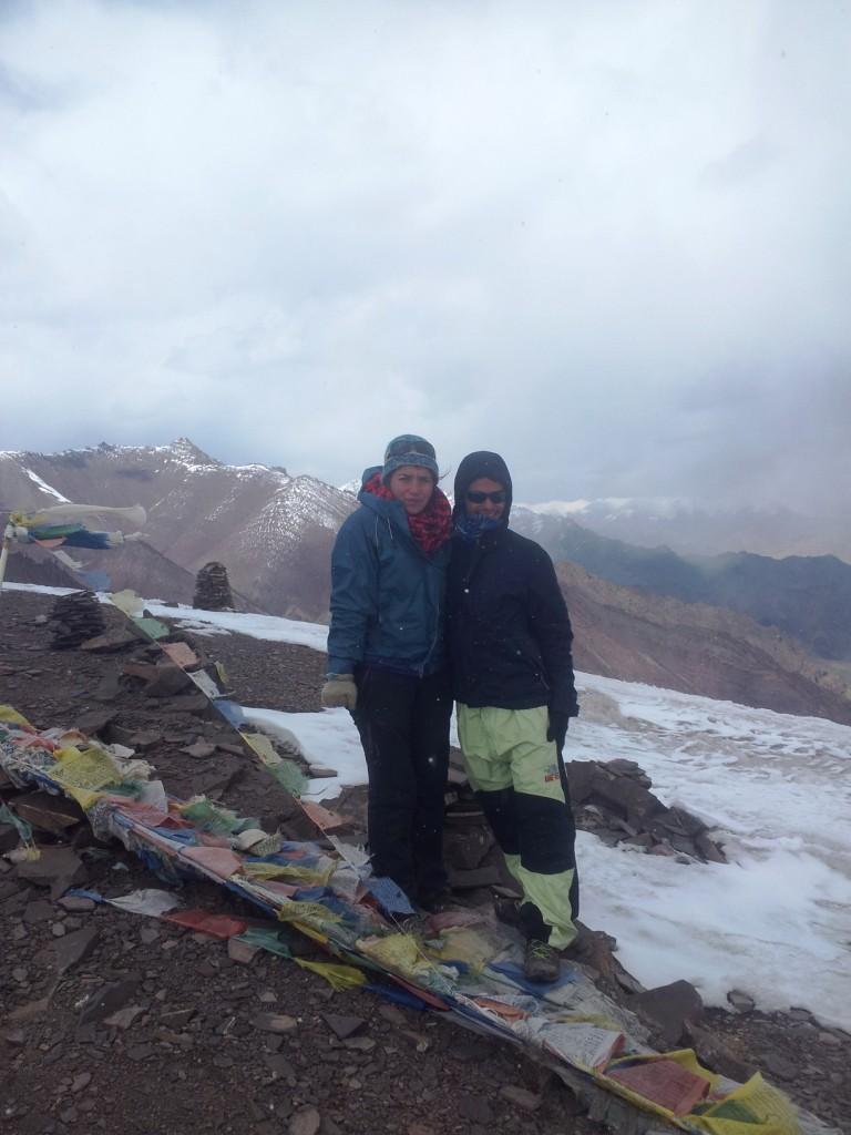 Finalmente no pico a 5100 metros!