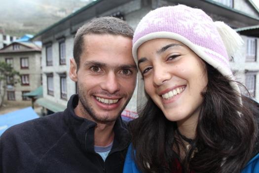 Gal e Eu em Namche Bazaar!